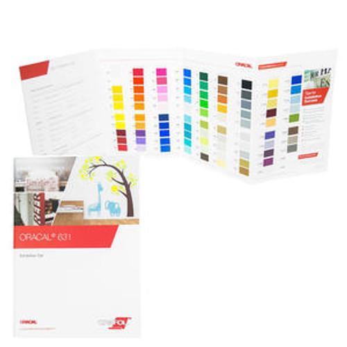 ORACAL 631 Intermediate Calendered Film Color Chart