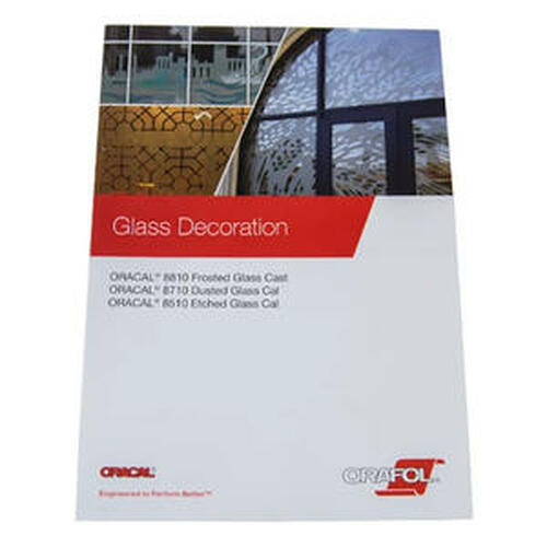 ORACAL Color Guide for 8810, 8510, 8710 Glass Film Guide