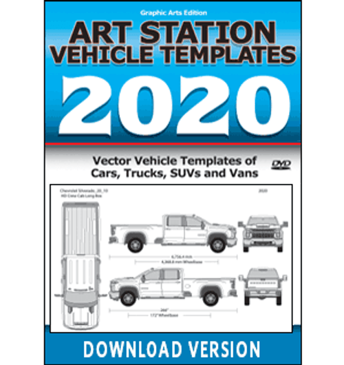 Art Station Vehicle Templates 2020