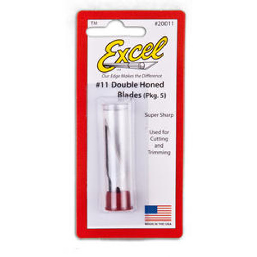 Excel K1 Light Duty Knife Replacement Blades - #11 Double Honed Blades