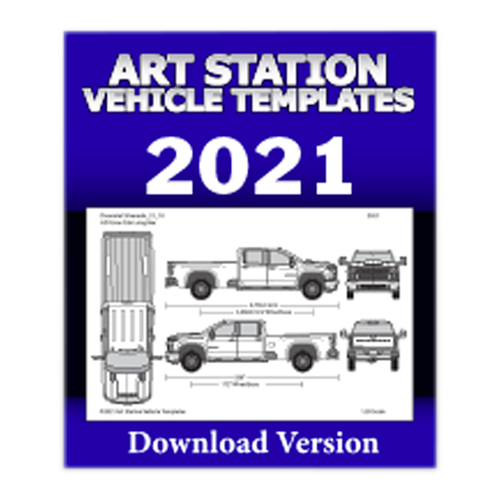 Art Station Vehicle Templates 2021