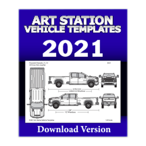 Art Station Vehicle Templates 2021
