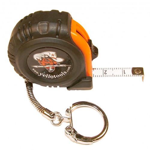 Yellotools MiniSignScale Pocket-Size Metric Tape Measure