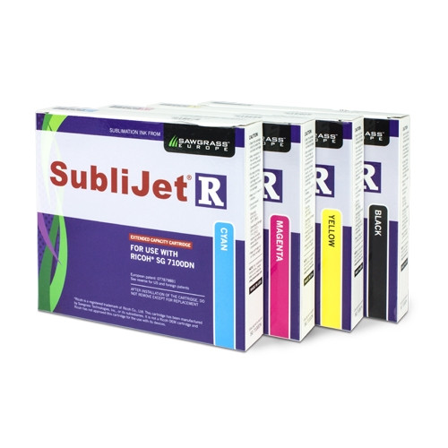 Sawgrass SubliJet R Extended Ink Cartridge For Ricoh SG 7100DN Printer