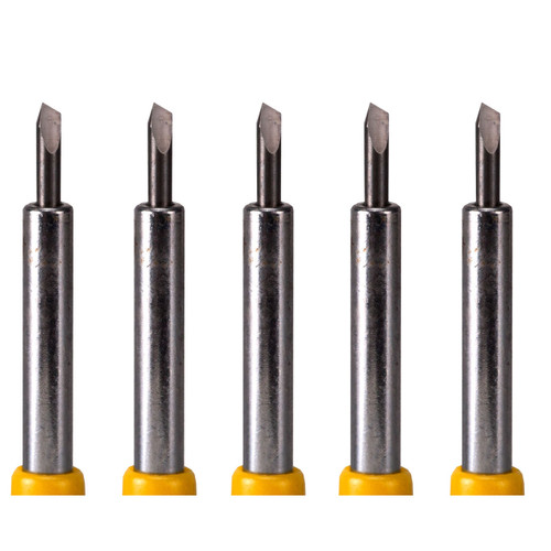 5 Pack of Roland Compatible Cemented Carbide Blades - 30 Degrees
