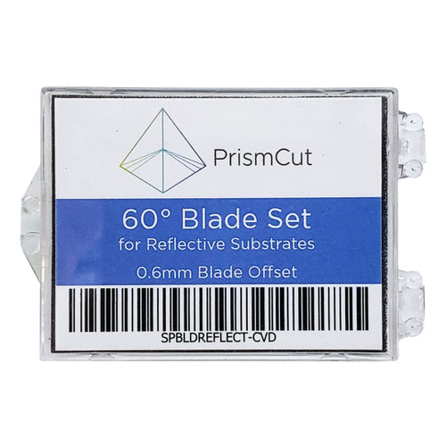 PrismCut 60 Degree Blade 3 Pack for Reflective Films
