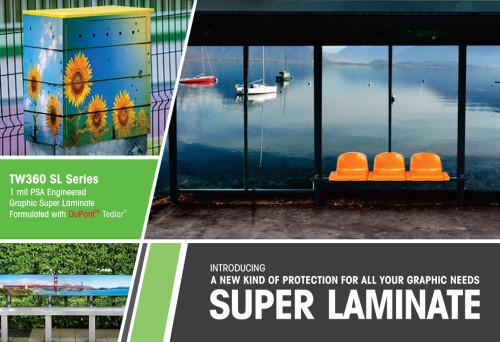 Traffic WrapZ TW360 Super Laminate, Graffiti Protection Film