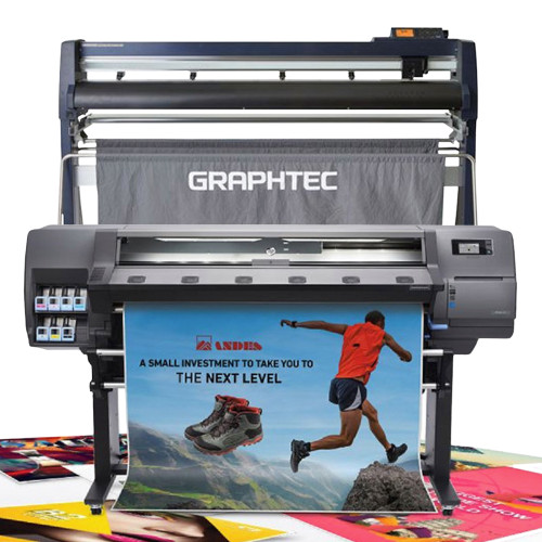 "HP Latex 115 54"" Print Cut Bundle with Graphtec 54"" FC9000"