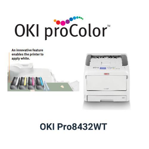 Oki Pro8432WT Printer Toner Cartridges