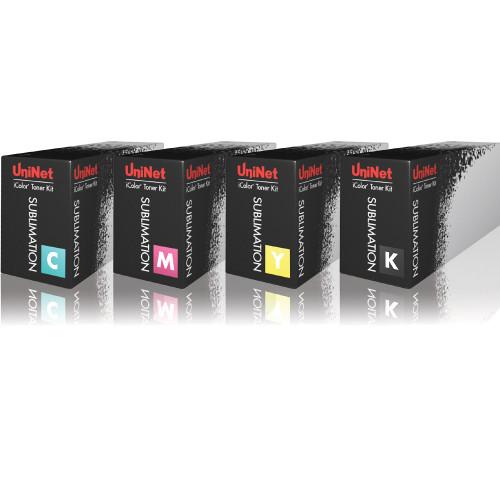 UniNet iColor 550 Sublimation Toner Cartridges CMYK
