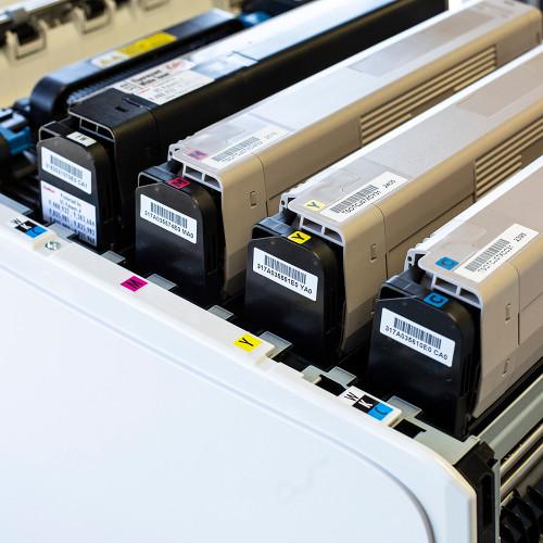 UniNet iColor 600 Individual CMYK + W Toner Cartridges