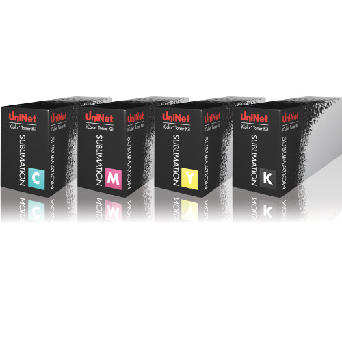UniNet iColor 600 Sublimation Toner Cartridges CMYK