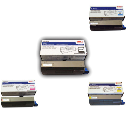 OKI proColor C711WT Printer Toner Cartridges