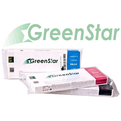 GreenStar Premium Inks for Roland ESL3 Printers