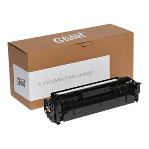 Ghost White Remanufactured Toner Cartridge fits HP M254 Printer & Canon i-SENSYS Printers