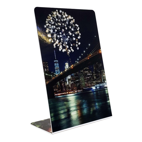 Duraluxe Glossy Two-Sided Easel Frame Sublimation Blanks