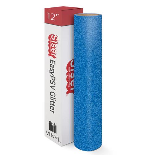12 Siser EasyPSV Glitter Adhesive Vinyl 1 Yard Sheet