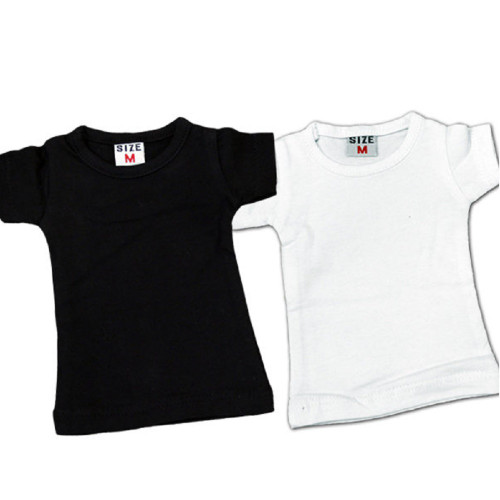Mini T-Shirts - White or Black for Promotional Samples