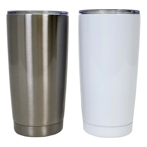 20oz Stainless Steel Travel Tumbler with Lid Sublimation Blank