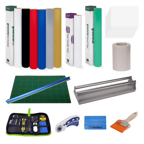 Sign Shop in a Box - Vinyl, Weeding Tool and Application Tool Starter Kit