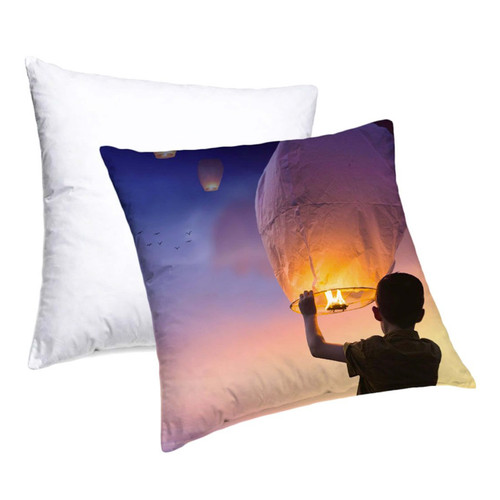 Printable Pillow Case Dye Sublimation Blank - 15.75in x 15.75in