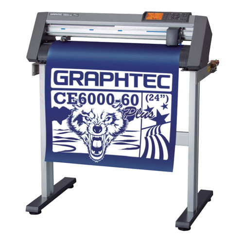 """Refurbished  24"""" Graphtec CE6000-60 PLUS Vinyl Cutter with Stand"""