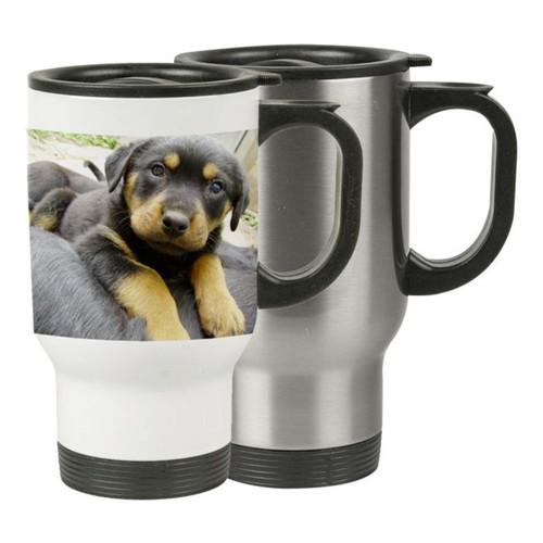 Dye Sublimation Stainless Steel 14 oz Travel Mug