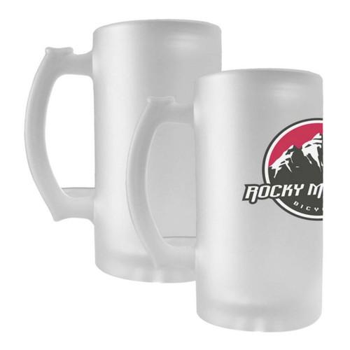 16oz Frosted Glass Beer Mug Dye Sublimation Blank