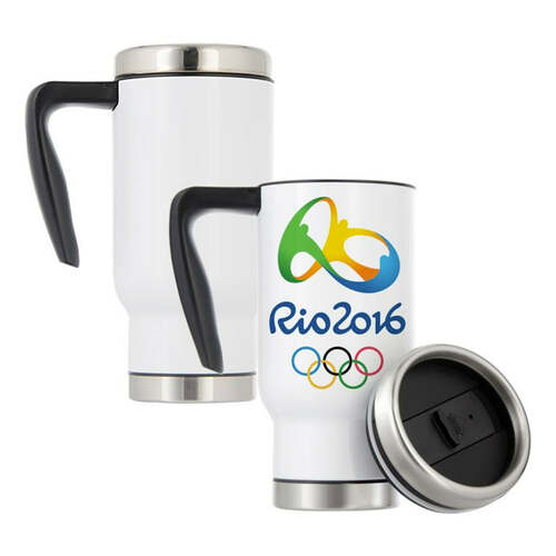 17oz Stainless Steel Travel Mug Dye Sublimation Blank