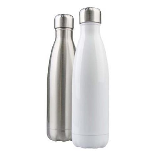 17oz Stainless Steel Coke-Shaped Water Bottle Dye Sublimation Blank