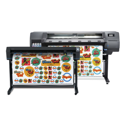 """HP Latex 315 Print & Cut Plus Solution - 54"""" Wide Format Printer & Vinyl Cutter with Inks"""