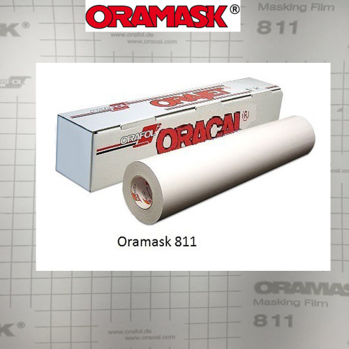 ORAMASK 811 Paint Mask Stencil, Opaque White