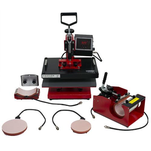 "USCutter Perfect Press 12"" x 15"" Digital 5-in-1 Swing Arm Heat Press"