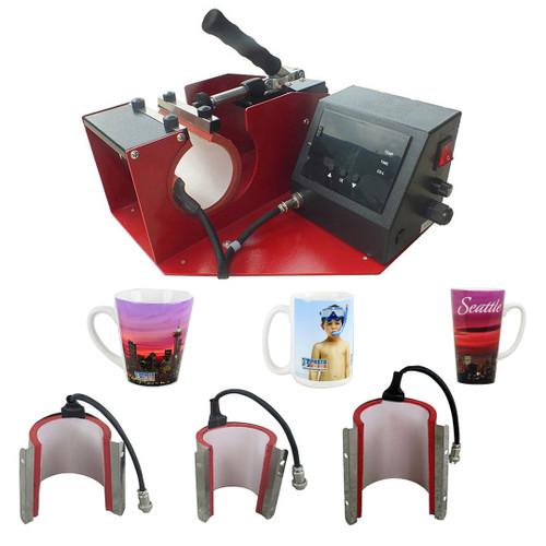USCutter Perfect Press - 4-in-1 Mug Press