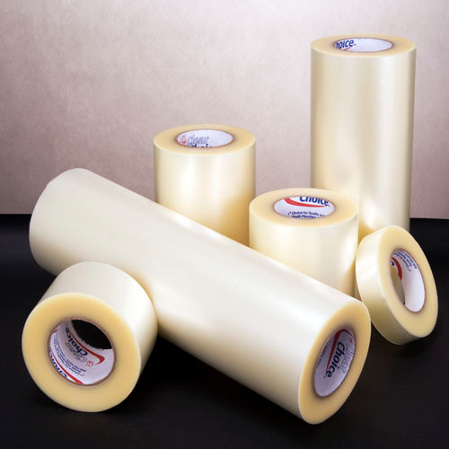 RTape Clear Choice AT75 100 Yard General Purpose Clear Embossed High-Tack Application Tape