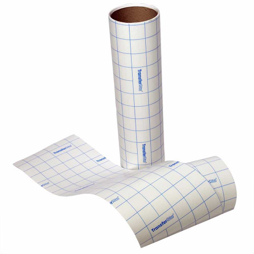 TransferRite 31GL  Clear Medium Tack Application tape with Liner
