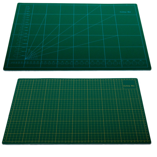 Greenie Cutting Mat, Double Sided Self Healing Cutting Mat