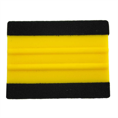Industry-Standard Rigid Squeegee with Double Sided Felt