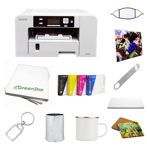 Sawgrass SG500 Virtuoso Printer With Sublijet Ink Set