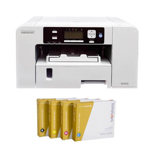 Sawgrass SG500 Virtuoso Printer Chromablast Ink and Software Bundle