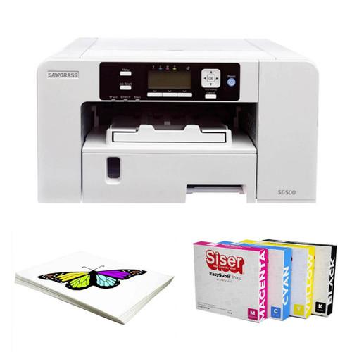 Sawgrass SG500 Virtuoso Printer EasySubli Ink and Software Bundle