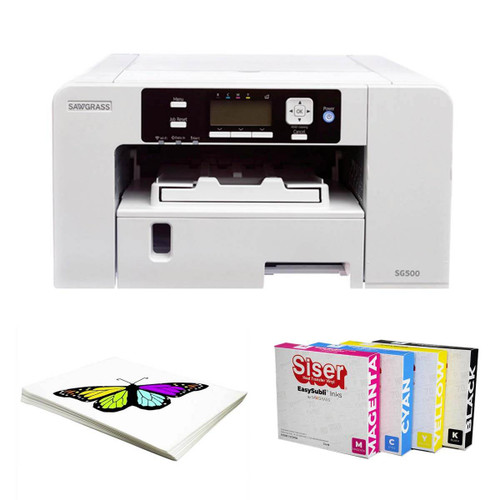 Sawgrass SG500 Virtuoso Printer with EasySubli Ink Set