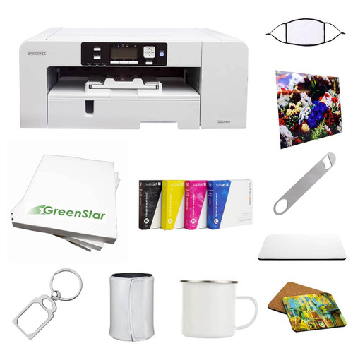 Sawgrass SG1000 Printer with SubliJet Inks and Software Bundle