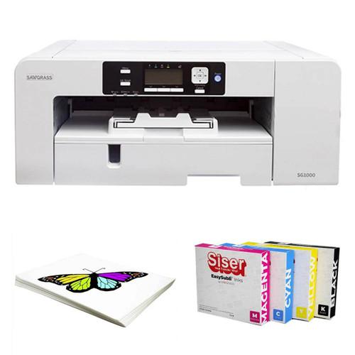 Sawgrass Virtuoso SG1000 Printer w/ Siser EasySubli Inks and Software Bundle
