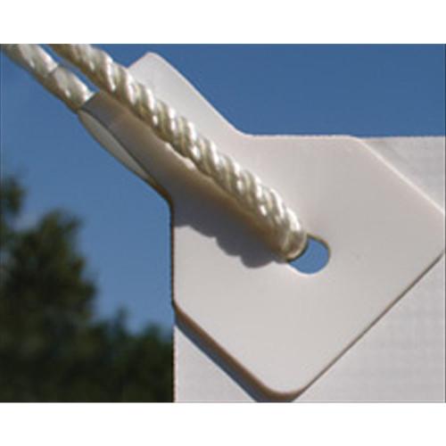 White Banner Ups 100 Pack