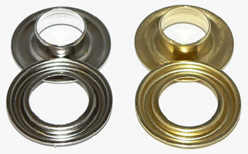 "Ace 3/8"" #2 Grommets Nickel or Brass Pkg of 500"