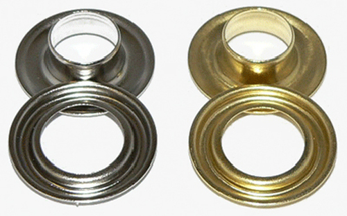 "Ace 3/8"" #2 Grommets Nickel or Brass Pkg of 500"