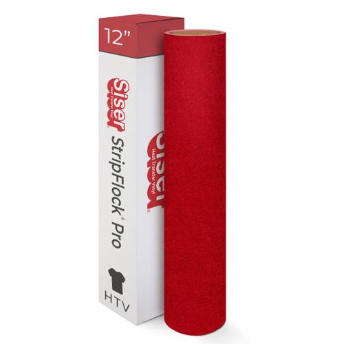 """12"""" Siser StripFlock Pro Heat Transfer Vinyl"""