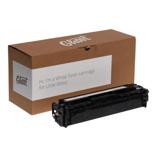 Ghost White Toner Cartridge for HP LaserJet Pro 200 Color M251 Printer (Comparable to HP 131A)