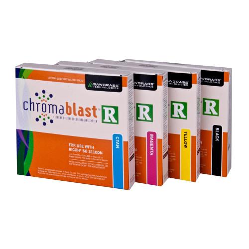 ChromaBlast-R Inks for Ricoh SG 3110DN / SG 7100DN
